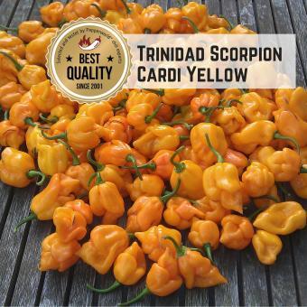 Trinidad Scorpion Cardi Yellow Chilisamen
