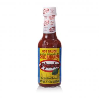 El Yucateco Chile Habañero Red Hot Sauce