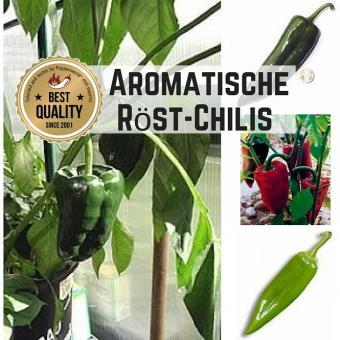 """Saat Sortiment """"Aromatische Röstchilis"""""""