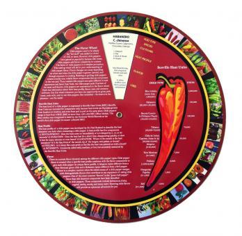 Das Chili Pepper Aroma-Rad