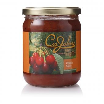 Cajohns Cherry Gourmet Salsa