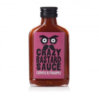 Crazy Bastard Sauce Chipotle & Pineapple (Pink Label)