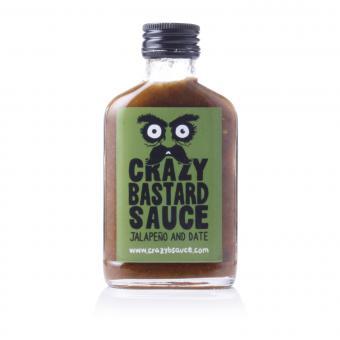 Crazy Bastard Sauce Jalapeño & Date  (Green Label)