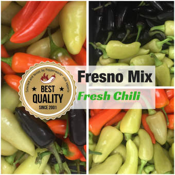 Frische Chili Fresno MIX, 400g