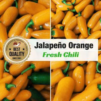 Frische Chili Jalapeno Orange, 400g