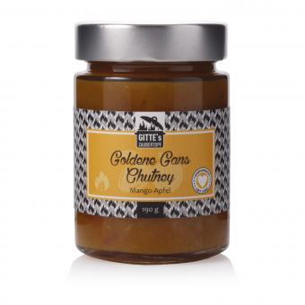 Gitte's Goldene Gans Mango-Apfel Chutney