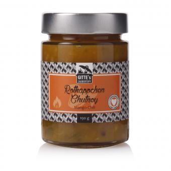 Gitte's Rotkäppchen Mango-Chili Chutney