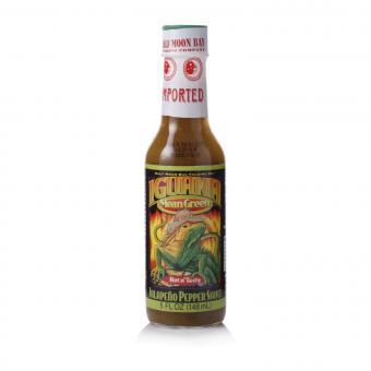 Iguana Mean Green Jalapeño Pepper Sauce