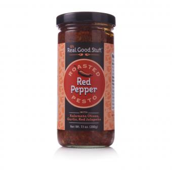 it's.Real.Good.Stuff. Roasted Red Pepper Pesto