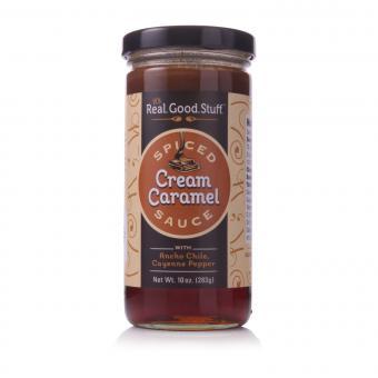 it's.Real.Good.Stuff. Spiced Cream Caramel Sauce