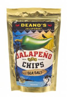 "Deano's Jalapenos Chips ""Sea Salt"""