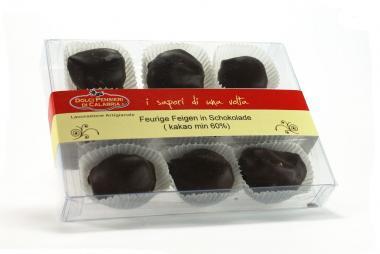 Feurige Feigen in Schokolade