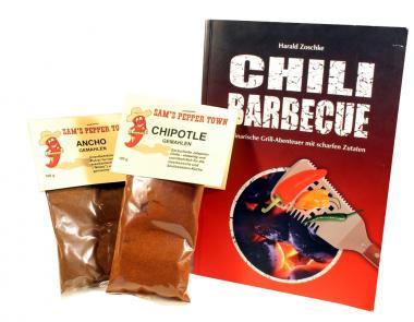 BBQ-Yourself-Pak: Zwei Basisgewürze & BBQ-Buch