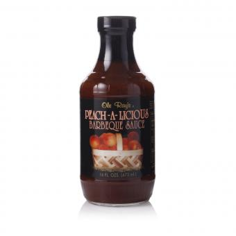 Ole Ray's Peach-A-Licious Barbeque Sauce