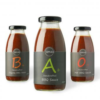!smak O+A+B+ BBQ Saucen 3er Pack