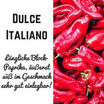 Dulce Italiano Paprika