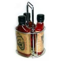 Hot Sauce Leer-Caddy (Flachmann)