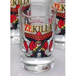 6 x ZEKILLA Chili Shotglass