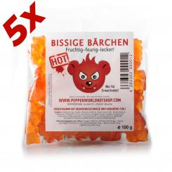 Bitchy Bears Habanero-Orange 5-Pack
