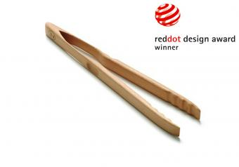 Zetsche Grill Tongs - Beech Wood (46 cm)