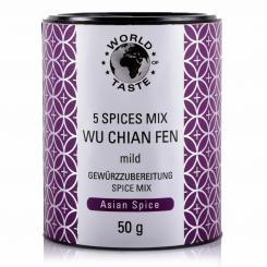 5 Spices Mix Wu Chian Fen - World of Taste