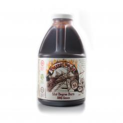 Barrel 51st Degree Burn BBQ Sauce, 1.89L