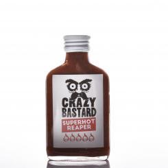Crazy Bastard Sauce Ghost Pepper & Mango (Orange Label)
