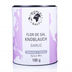 Flor de Sal Garlic - World of Salt