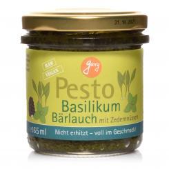 BIO Georg Pesto Basilikum-Bärlauch - 165ml Glas