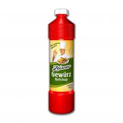 Zeisner Gewürz-Ketchup scharf, 800ml