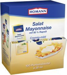 Homann Salat Mayonnaise 50% - 20 ml