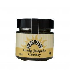 Honig-Jalapeno Chutney - Fuego del Sol