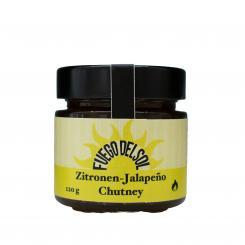 Zitronen - Jalapeño Chutney - Fuego del Sol