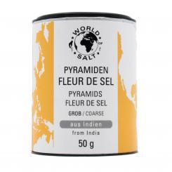 Fleur de Sel - Pyramidensalz Indien- grob  - World of Salt