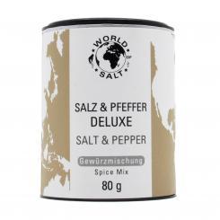 Salz & Pfeffer Gewürzmischung Deluxe - World of Salt