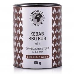 Kebab BBQ Rub - World of Taste