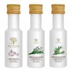 Mediterranes Olivenöl Set 3x100ml - AZADA
