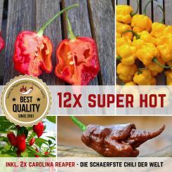 MEGA SUPER HOT Organic Plants-Power-Pack