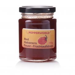 Red Habanero Feuer-Fruchtaufstrich