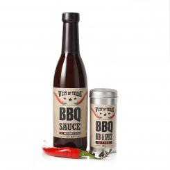 West of Texas® BBQ Sauce+Rub Combo