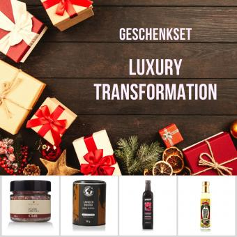 """Geschenkset """"Luxury Transformation"""""""