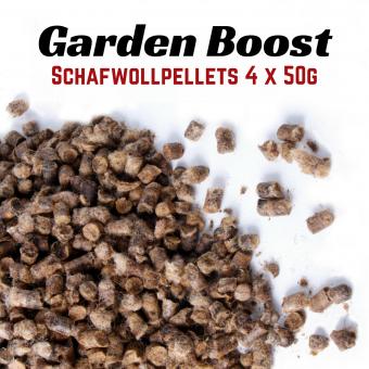 Garden Boost Sheep Wool - Schafwollpellets - 4x50g Portion
