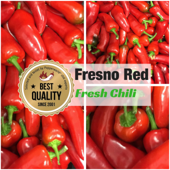 Fresh Chili Fresno red, 400g