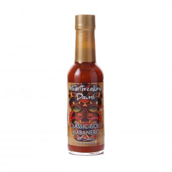Heartbreaking Dawns Classic Gold Habanero Hot Sauce