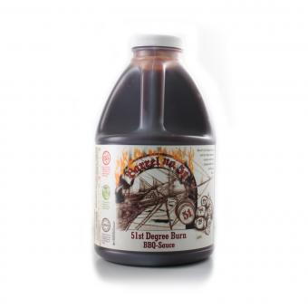 Barrel 51st Degree Burn BBQ Sauce - 1,89l