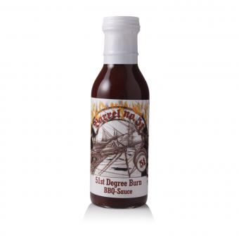 Barrel 51st Degree Burn BBQ Sauce, Pepperworld-Edition