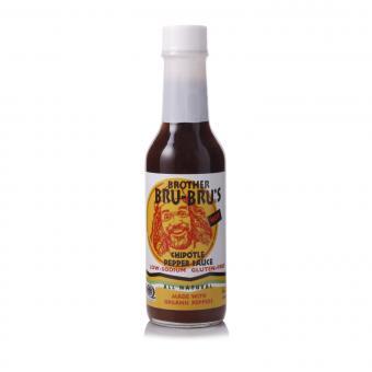 Brother Bru-Bru's African Chipotle Pepper Sauce Hot - Organic