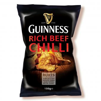 BURTS Guinness Rich Beef Chilli Chips, 150g