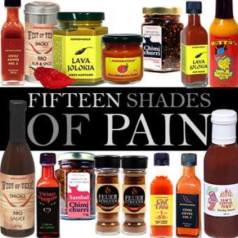 Fifteen Shades of Pain