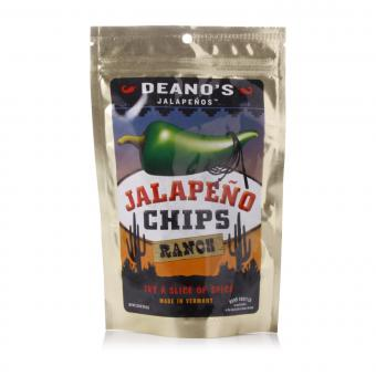 """Deano's Jalapenos Chips """"Ranch"""""""